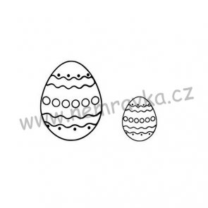 Silicone Stamps Set by Nemravka / Easter Eggs II.