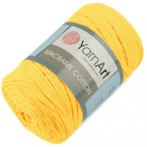 YarnArt Macrame Cotton 250 g / no. 764 Žlutá