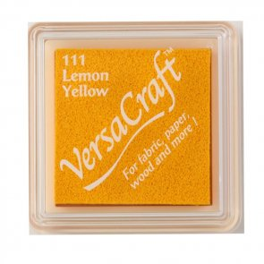 Ink Pad VersCraft / Tsukinesko / Lemon Yellow