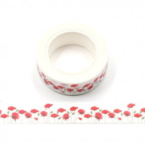 Washi Tape / Wild Poppies