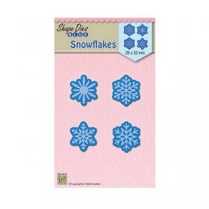 Metal Cutting Dies by Nellie´s / Snowflakes