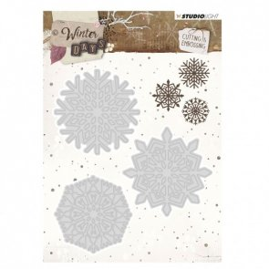 Metal Cutting Dies by Studio Light / Winter Days / Snowflakes