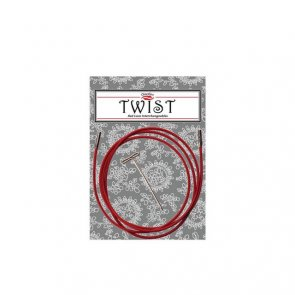 Red Cable Twist LARGE / ChiaoGoo / 125 cm