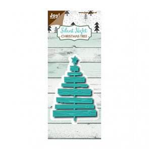 Metal Cutting Die / Joy! Crafts / Silent Night / Christmas Tree