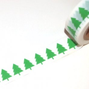 Washi Tapes / Green Trees