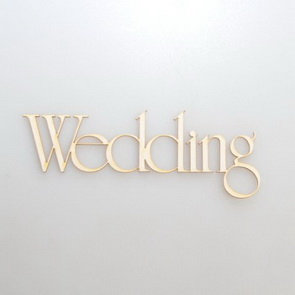 Chipboards Wycinanka / Wedding