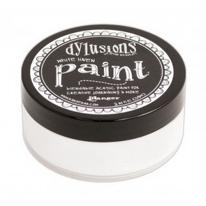 Dylusions Paint / White Linen