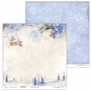 Scrapbooking Paper by Lexi Design / Winter Tales 01