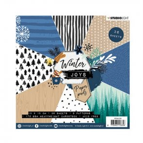 Sada scrapbookových papírů Studio Light / Winter Joy /  no. 128