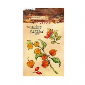 Silicone Stamps Set by Studio Light / Wonderful Autumn / no. 481