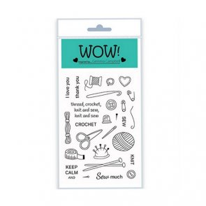 Silicone Stamps Set by WOW! / Simply Sew