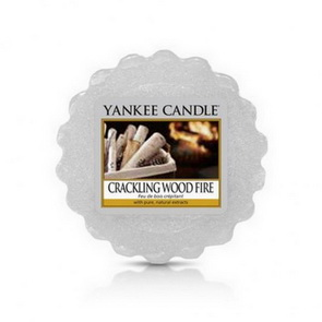 Vosk Yankee Candle / Crackling Wood Fire
