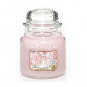 Classic Yankee Candle / střední / Snowflake Cookie