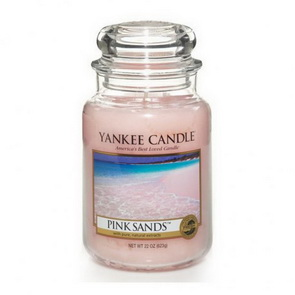 Classic Yankee Candle / velký / Pink Sands