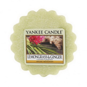 Vosk Yankee Candle / Lemongrass & Ginger