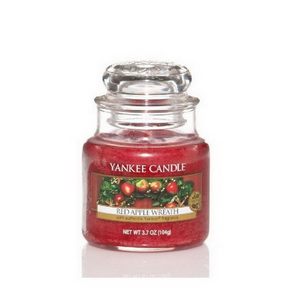 Classic Yankee Candle / malý / Red Apple Wreath