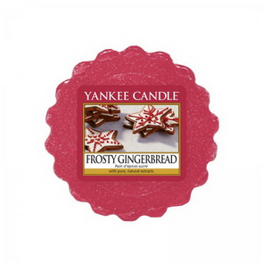 Vosk Yankee Candle / Frosty Gingerbread
