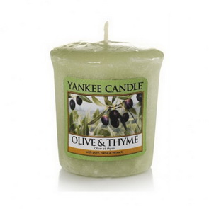 Votive Yankee Candle / Olive & Thyme