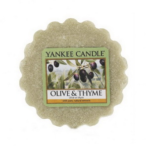 Vosk Yankee Candle / Olive & Thyme