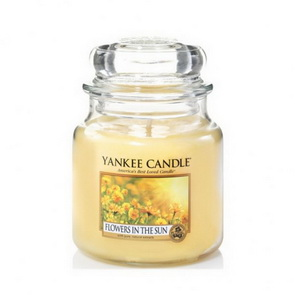 Classic Yankee Candle / střední / Flowers in the Sun