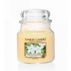 Classic Yankee Candle / střední / Tobacco Flower