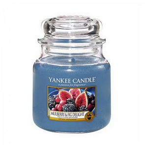 Classic Yankee Candle / Medium / Mullberry & Fig Delight