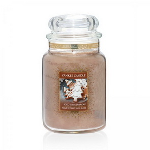 Classic Yankee Candle / velký / Iced Gingerbread