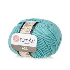 Gina (Jeans) / YarnArt / 81 Turquoise