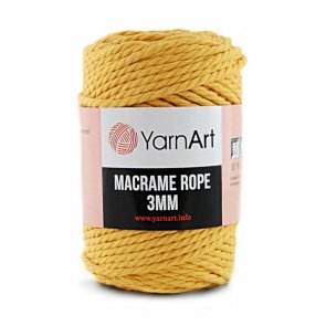 Macrame Rope 3 mm / YarnArt / 764 Yellow