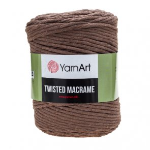 Twisted Macrame / YarnArt / 788 Brown