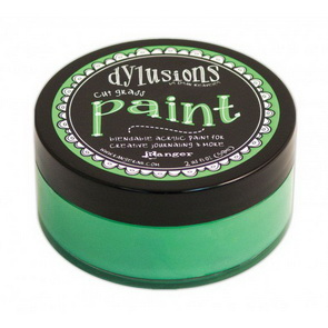 Dylusions Paint / Cut Grass
