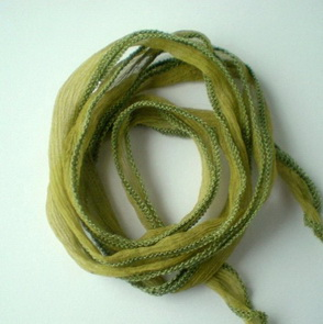 Silk String / Thin / Olive