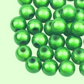Sparkling Beads / 20 pc / 6 mm / Green
