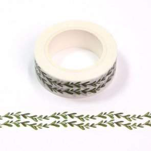 Washi Tape / Two Green Branches