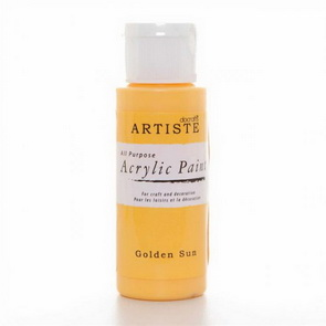 Artiste Acrylic Paint / Yellow