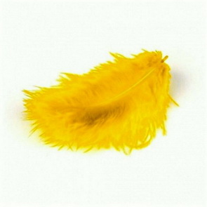 Decorative Feathers by Meyco / Orange Yellow