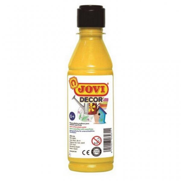 acrylic paint by jovi 250 ml yellow nemravka cz