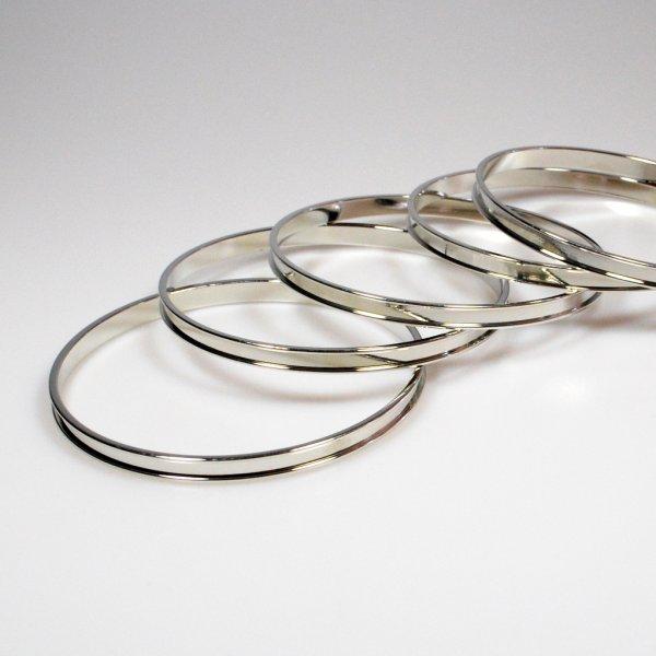 Channel Bracelet Blank I Silver