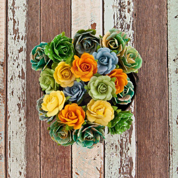 Decorative paper flower by prima marketing free spirit flower decorative paper flower by prima marketing free spirit flower good vibes mightylinksfo