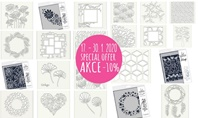Special Offer for Claritystamp Plastic Stencils