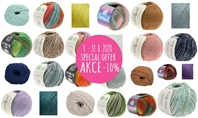 Special Offer for Lana Grossa balls, Janet and Soft Cotton