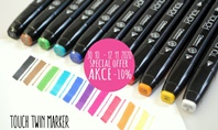 Special Offer for Touch Twin Markers