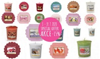 Special Offer for Yankee Candle Votives and Tart Waxes