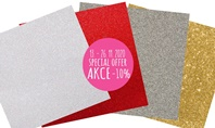 Special Offer for Glitter Papers