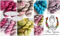New balls by Flow Yarns