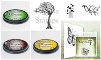 Lavinia Clear Stamps, Ink pads and Stencils