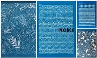 New Silkscreen Stencils by Moiko