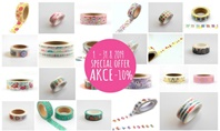 Special Offer Washi Tapes