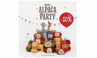 Alpaca balls with 30% discount