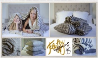 FluffyAffairs Knitted Blankets and Pillows